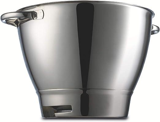 Kenwood 36386A Accesorio Bol con Asas Compatible con Robots De Cocina Major Y Chef, Acero Inoxidable, 6.7 litros, Plateado: Amazon.es: Hogar
