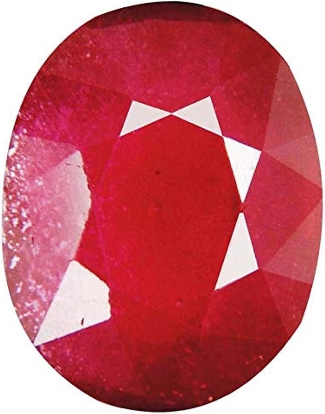 Tejvij And Sons Natural Ruby Manik Gemstone