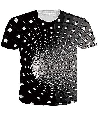 the latest 80caa 4c294 Fanient Herren T-Shirt Aufdruck Rundhals Tee Hemd mit kurzen Ärmeln Lässige  T-Shirt