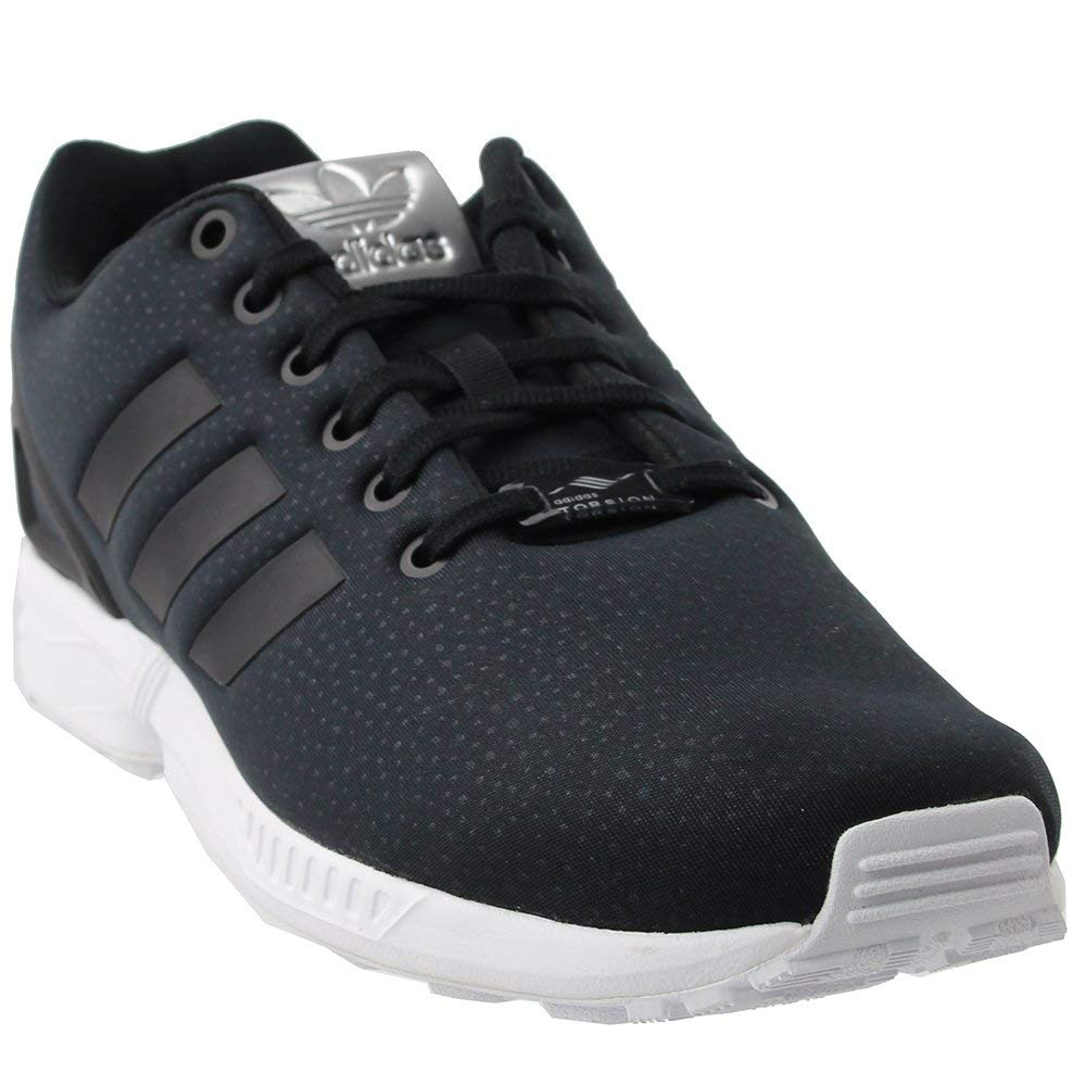 buy online a3b86 0b58b Galleon - Adidas Originals Women s ZX Flux W Running Shoe Black Metallic  Silver, 9 Medium US
