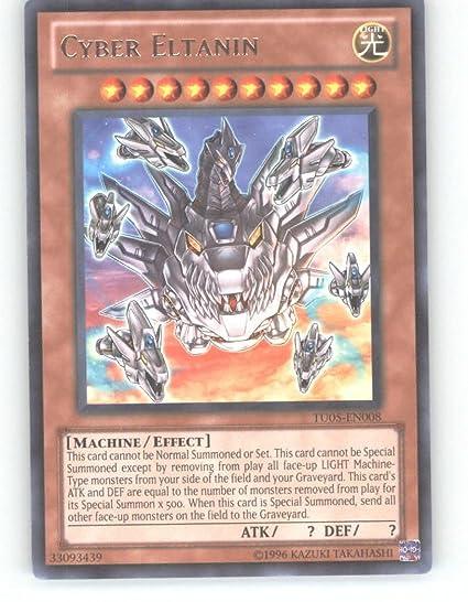Yu-Gi-Oh! - Cyber Eltanin Rare TU05-EN008 - Turbo Pack