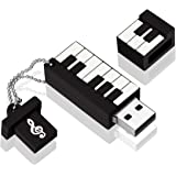 USB Flash Drive, MECO 8GB Elegant Piano Model Memory Stick Storage USB2.0 Thumb Pen Drive Gift