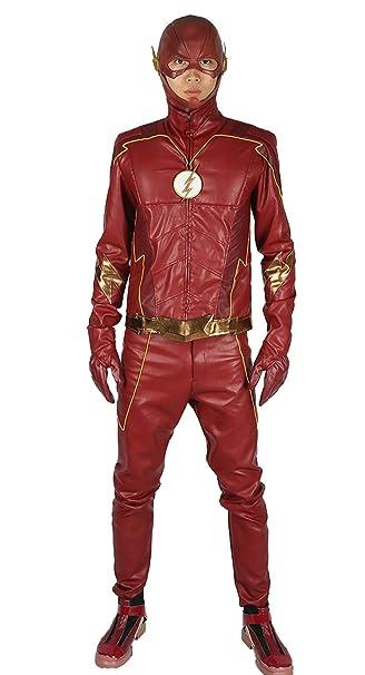 Black Lightning DC Comics Superhero Fancy Dress Halloween Deluxe Adult Costume