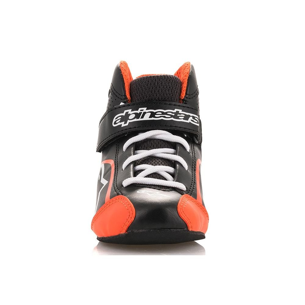 Size 1 Alpinestars 2712518-125-1 Tech 1 K S Youth Shoes Black//White//Yellow Fluorescent