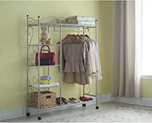 """Home Storage Solutions 48"""" Wide Closet System"""