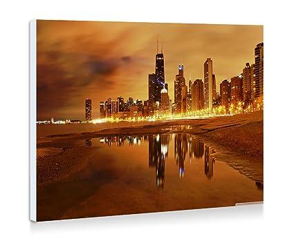 Chicago de Julio de 4th - Impresión de arte pared arte moderno ...