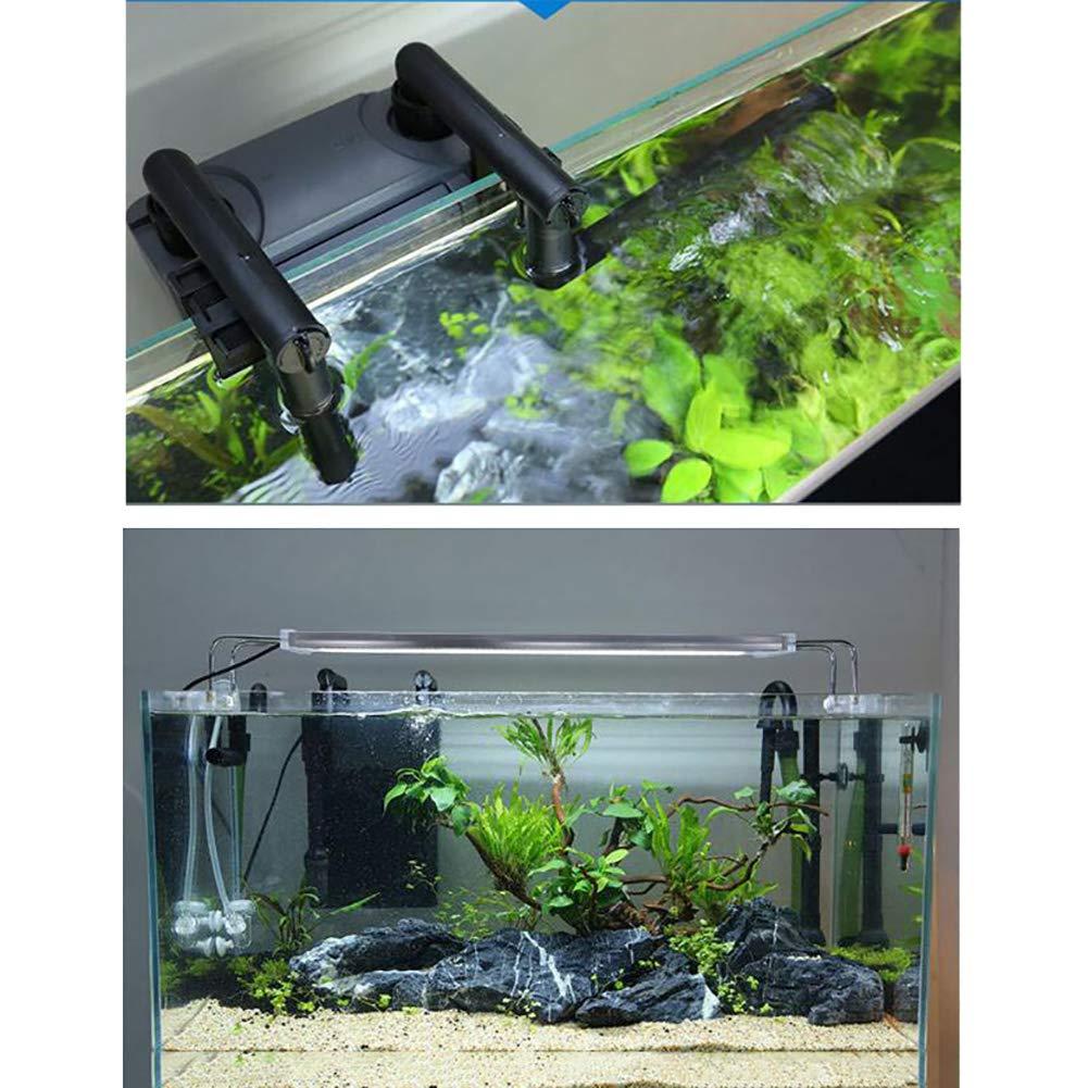 DJLOOKK Filtro Acuario Tanque De Repuesto para Acuario Que Cuelga Fuera del Filtro Mudo del Tanque De Peces para El Filtro De Acuario para Peces Pequeños Y ...
