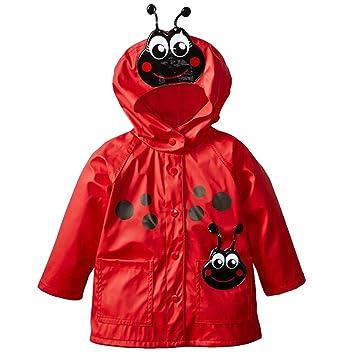 Niños chaqueta Impermeable Chubasquero,Rompevientos con ...