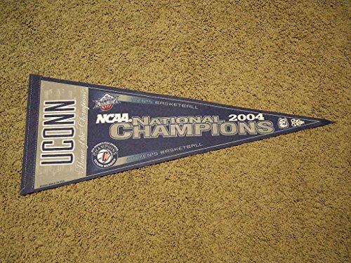 2004 Ncaa Basketball Champions - 2004 NCAA Connecticut Huskies Women'S Basketball 2004 National Champions Pennant
