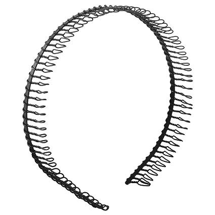 le migliori scarpe stili di grande varietà attraente e resistente Winomo Cerchietto per capelli Denti di metallo donna pettine capelli  Hairband Hoop Fascia - 1 pezzo