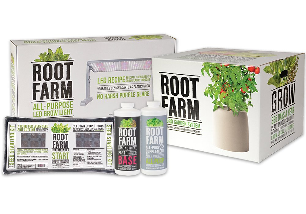 Root Farm Indoor Hydroponic Gardening System - Starter Kit by Root Farm