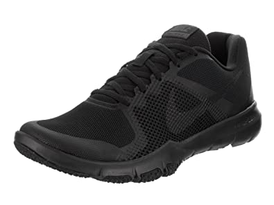 NIKE Men's Flex Control Black/Anthracite Training Shoe 10.5 Men US