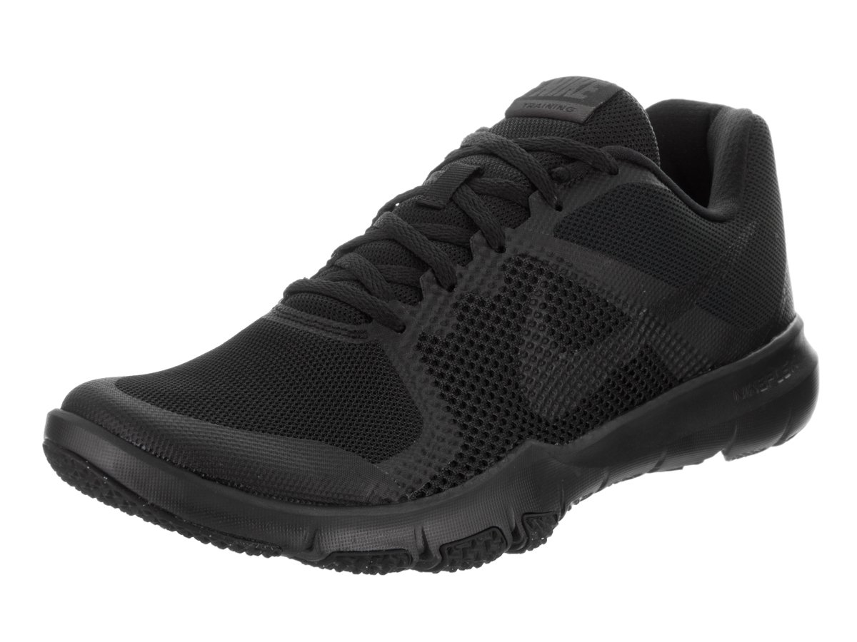 NIKE Men's Flex Control Black/Anthracite Training Shoe 10 Men US