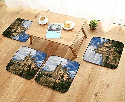 Amazon.com: UHOO2018 Universal Chair Cushions Castle of ...