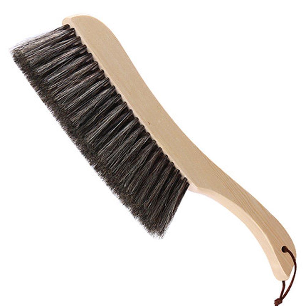 ZHANGY broom Spazzola da banco per la pulizia della camera da letto della scopa Spazzola da banco per detergenti per granuli domestici o auto 15 in