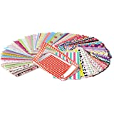 Zink Colorful Fun & Decorative Stickers For 2x3 Photo Paper Projects Pack of 100 Compatible with Kodak, Lifeprint, Polaroid,