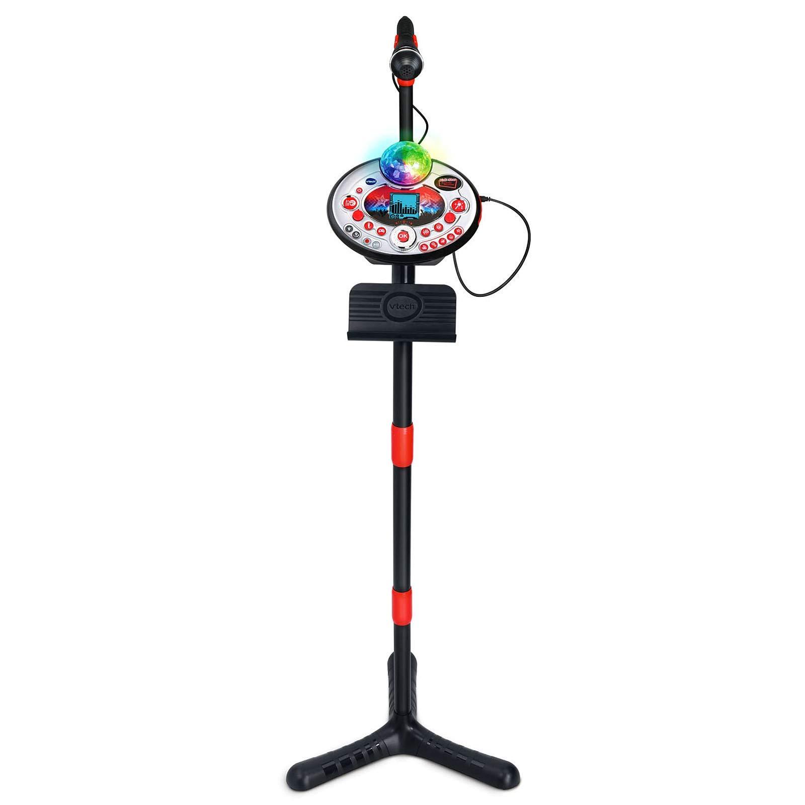 VTech Kidi Star Karaoke Machine (Black) (Renewed) by VTech (Image #3)