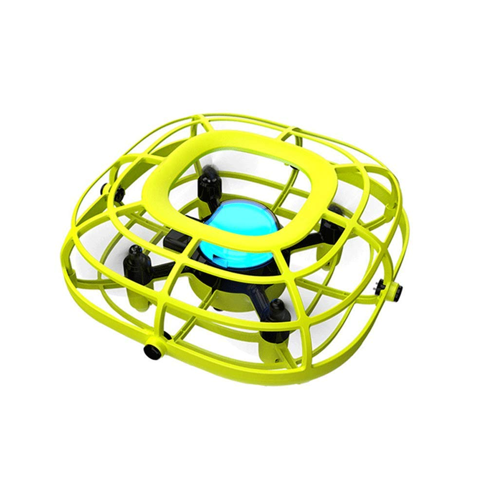 SOFEELING Levitation UFO Drone Mini Quadcopter Flying Ball Easy Controlled Hand Operated Mini Drone Toys Boys Girls (Green) by SOFEELING