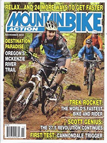 - Mountain Bike Action Magazine November 2012