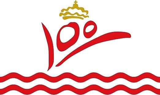 magFlags Bandera Large Conmemorativa del Primer Centenario del ...