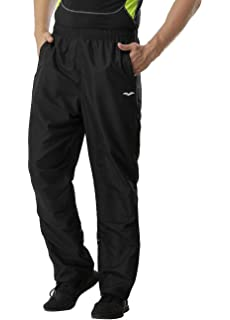 4a7dd186e9 MIER Men s Sports Pants Warm-Up Pants with Zipper Pockets for Workout