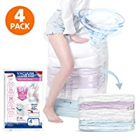 Deals on 4-Pack Taili Cube Vacuum Space Saver Bags Jumbo Size