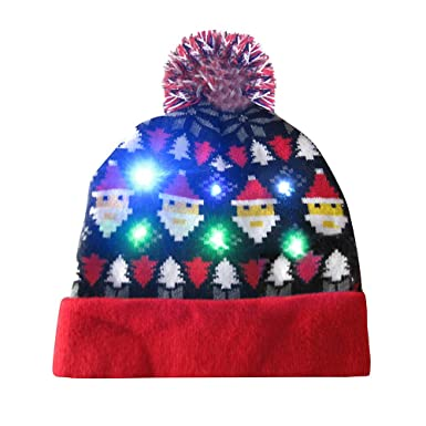 8e0dd40068c SSMENG Christmas Hat for Adults
