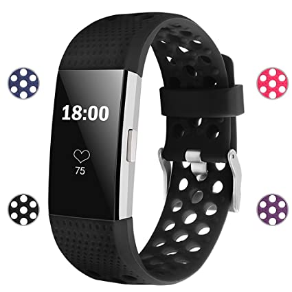 Amazon Com Igk Silicone Replacement Bands Compatible For Fitbit