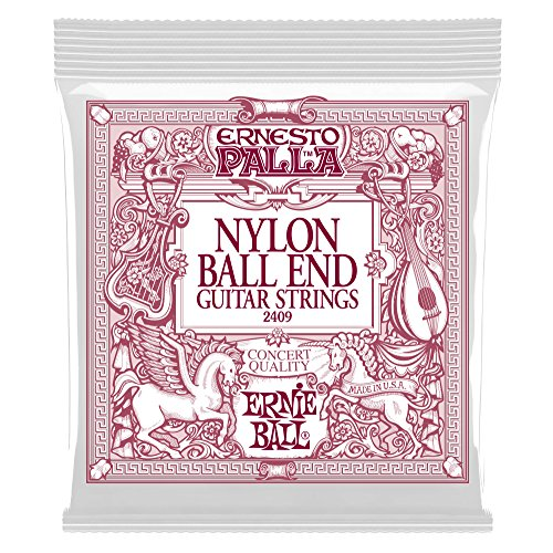 Ernie Ball Ernesto Palla Nylon Black and Gold Classical Ball