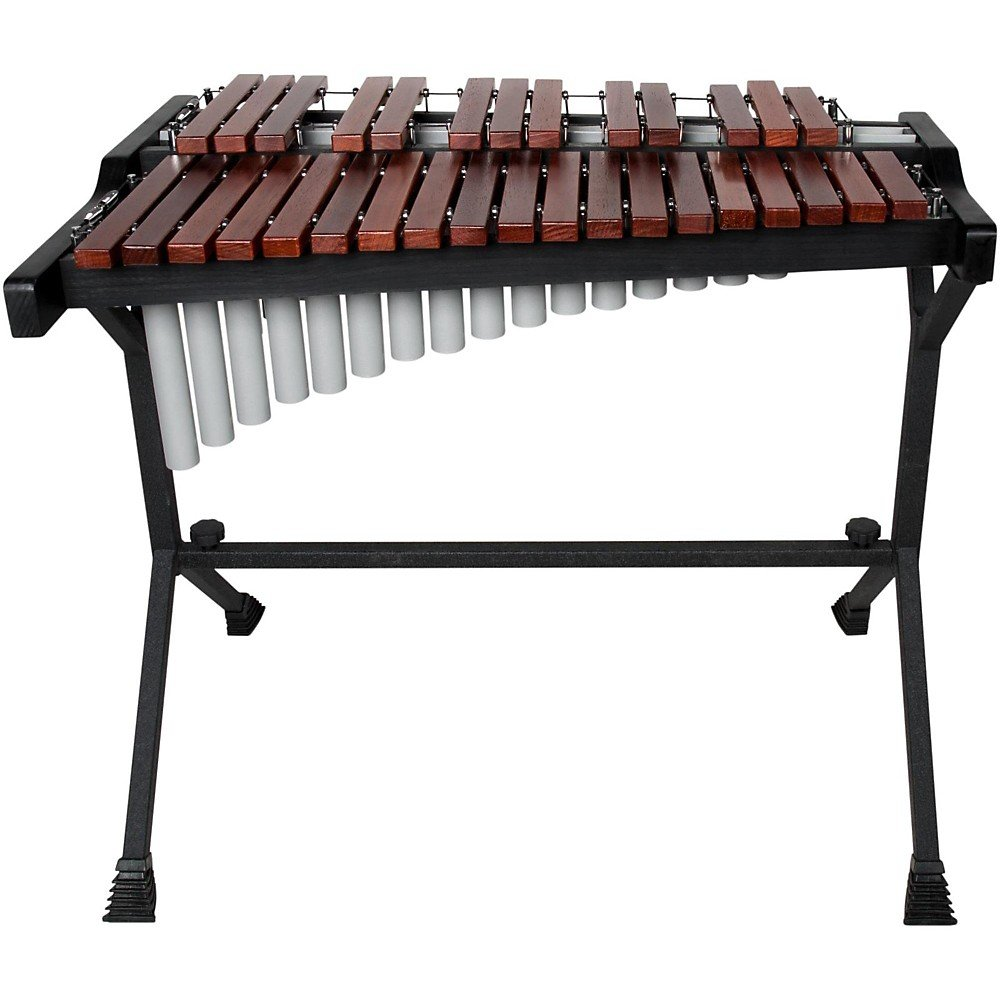Sound Percussion Labs 2-2/3 Octave Xylophone Level 2 Padauk Wood Bars, with Resonators 190839163011