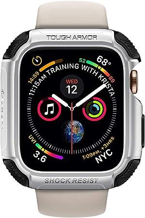 Spigen Tough Armor Kompatibel Mit Apple Watch Hülle Für Elektronik