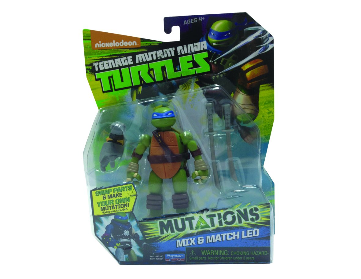 Amazon.com: Teenage Mutant Ninja Turtles mutaciones Mix-n ...