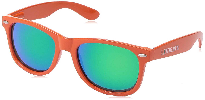 Green Lenses Miami Sunglasses MIAFL-1 NCAA Orange Frame
