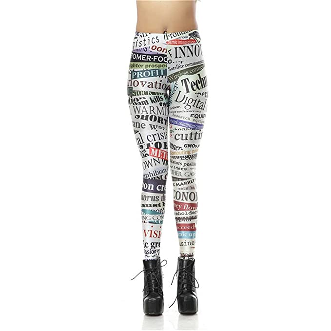ITPING Donne Legging Stampati Leggings retrò Legins Sexy Pantaloni Leggins   Amazon.it  Abbigliamento 985c62d036a