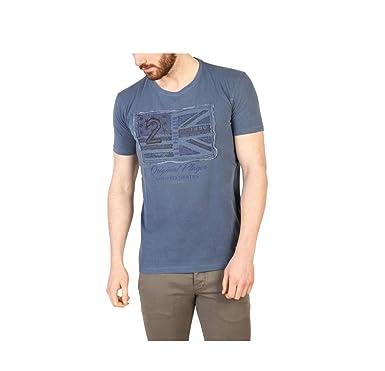 U.S.POLO ASSN.-T-Shirt para Hombre de Manga Corta 42262_ Azul ...