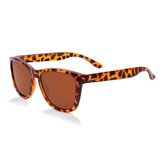 GQUEEN Gafas de Sol Polarizadas para Hombre y Mujer - Gafas Clásicas Unisex MS07: Amazon.es: Ropa y accesorios