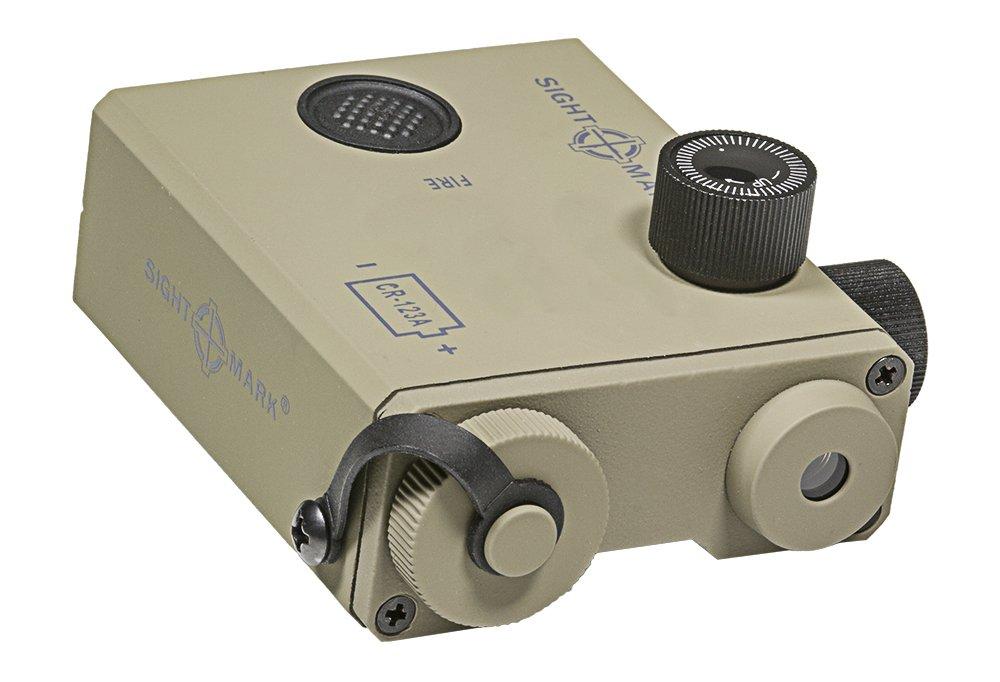 Sightmark LoPro Designator with Green Laser- Dark Earth by Sightmark