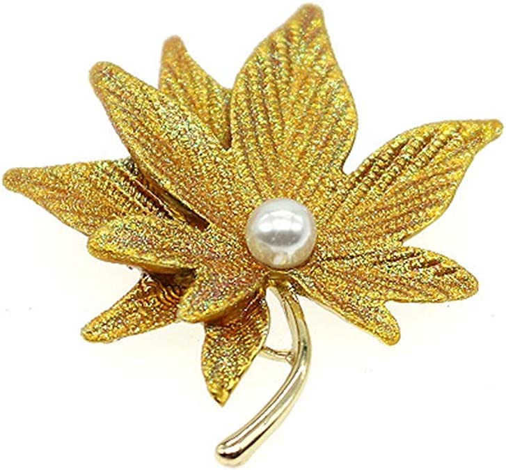 HSQYJ Maple Leaf Brooch