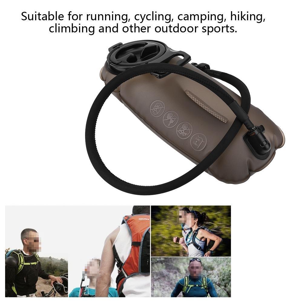 auslaufsicherer Wasserbeh/älter Aufbewahrungstasche Pack Ersatz f/ür Wandern Klettern Radfahren Trinkblase Laufen Radfahren
