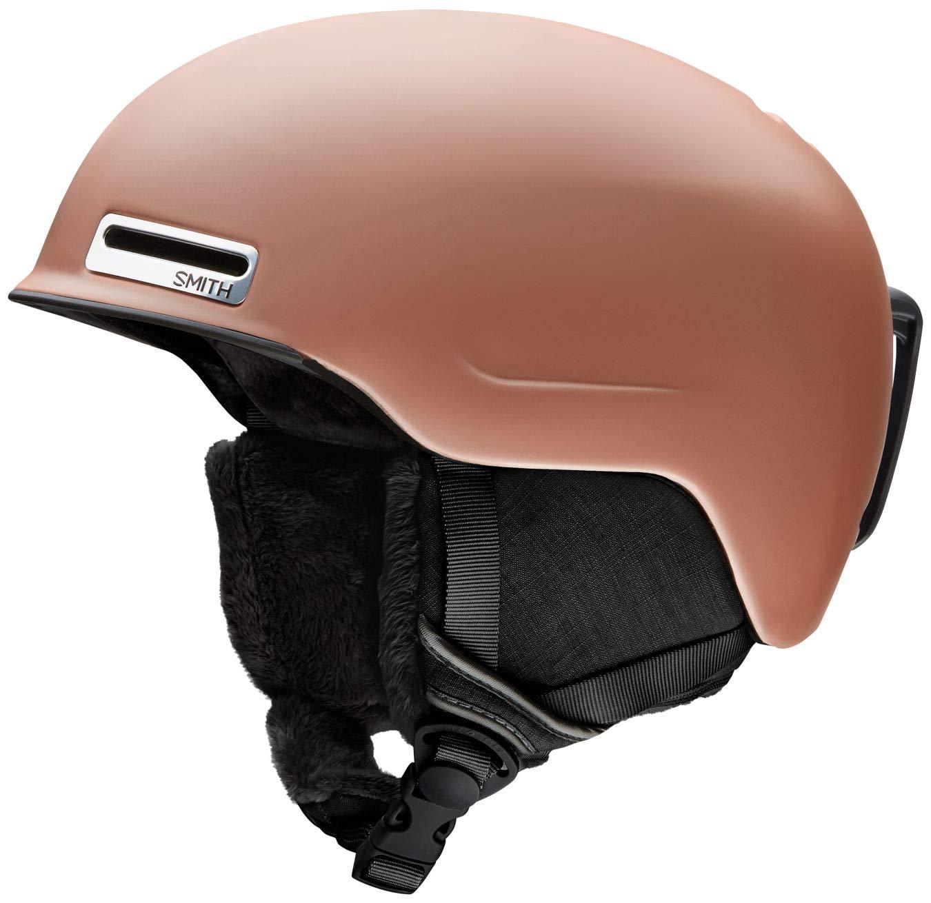 Smith Optics Allure Women's Ski Snowmobile Helmet - Matte Champagne/Large