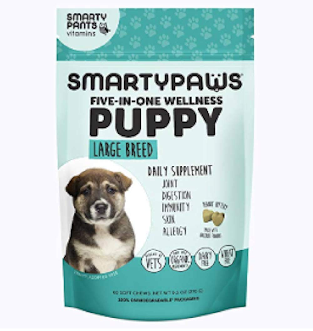 Dog Supplement Chew- Puppy Large by SmartyPants