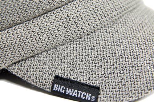 [ビッグワッチ] 帽子 大きいサイズ キャスケット グレー CAS-26 メンズ L XL