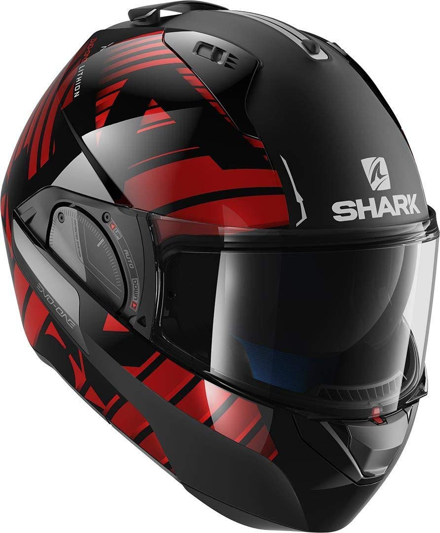 antracite nero Shark Casco modulabile Evo One 2/ Lithion Dual taglia L