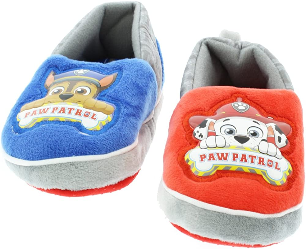 Paw Patrol Boys Girls Aline Slippers Toddler//Little Kid