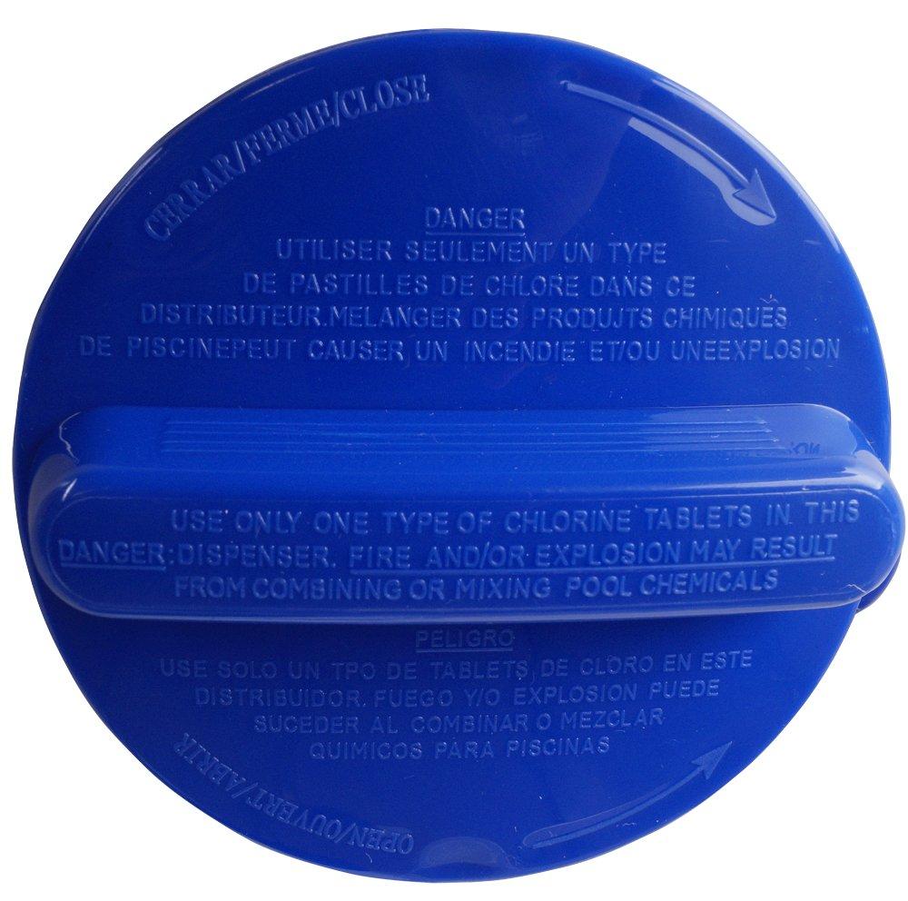Dosificador cloro flotante para piscina cloro dispensador de pastillas de cloro para Pool Mantenimiento: Amazon.es: Jardín