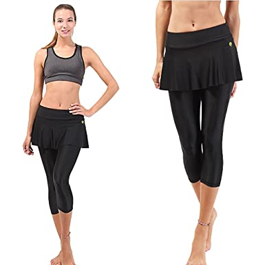 0bbf0b7243 myglory77mall Men's Fitness Leggings Running Gym Skirt Street Sports Yoga  Pants: Amazon.co.uk: Clothing