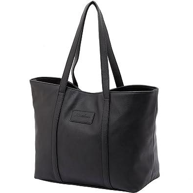 Black Handbags, ZMSnow PU Leather Purses Shoulder Bag Ladies ...