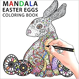 Mandala Easter Eggs Coloring Book Sam Sara 9781511448925 Amazon Books