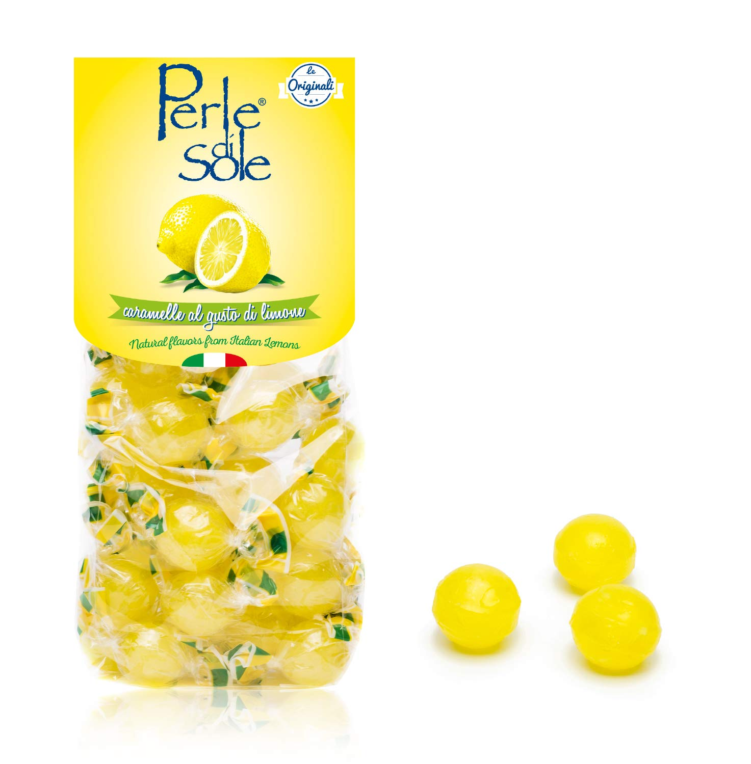 Perle di Sole Amalfi Lemon Drops (6 x 7.05oz Bag) by Perle di Sole