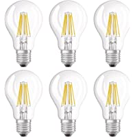 Osram 4052899962187 Led Ampul 6'Lı Paket, 8 W, E27, Sarı
